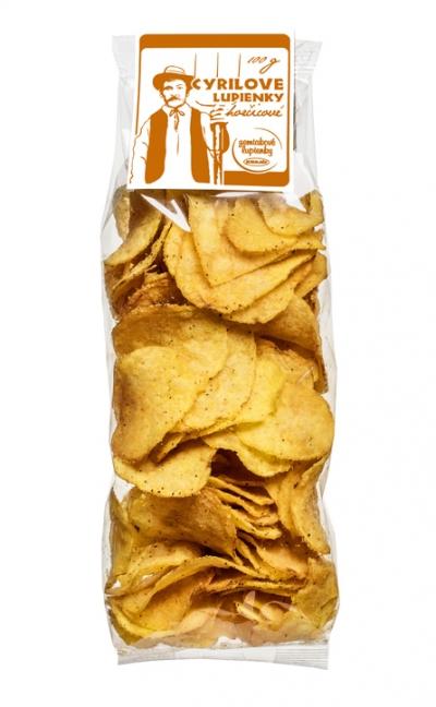 Cyrilové čipsy horčicové MAXI