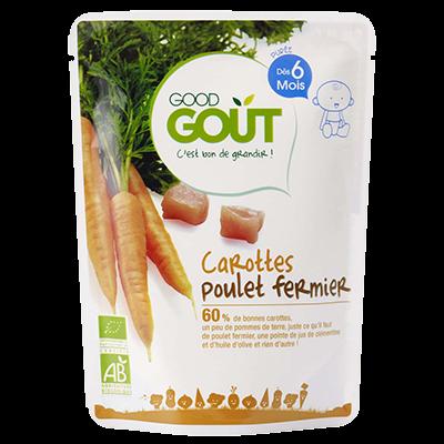 Good Gout BIO Mrkva s farmárskym kuraťom