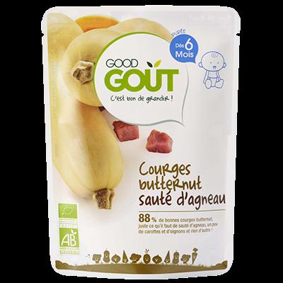 Good Gout BIO Maslová dyňa s jahňacím mäsom