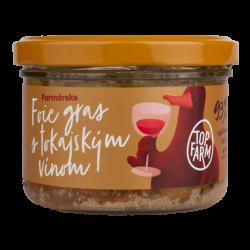 Foie gras s tokajským vínom 6ks